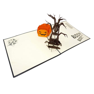 Halloween Tree Pop-Up Card