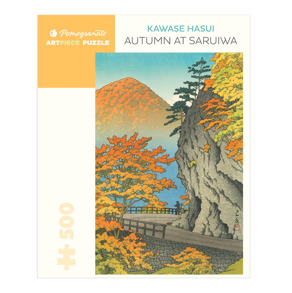 Kawase Hasui: Autumn at Saruiwa 500-piece Jigsaw Puzzle