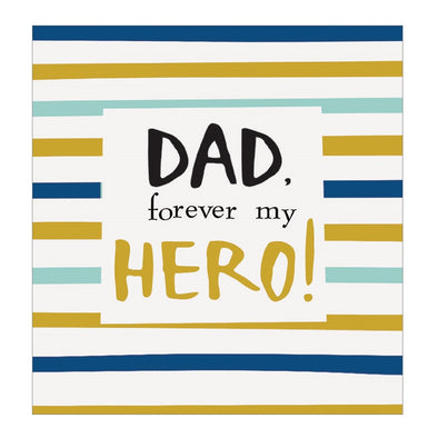 """Forever My Hero"" Father's Day Card"