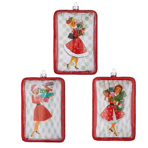 Holiday Shopper Ornaments