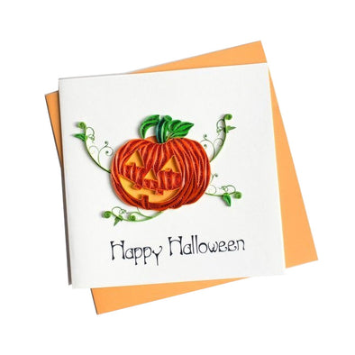 Happy Halloween Quilling Card