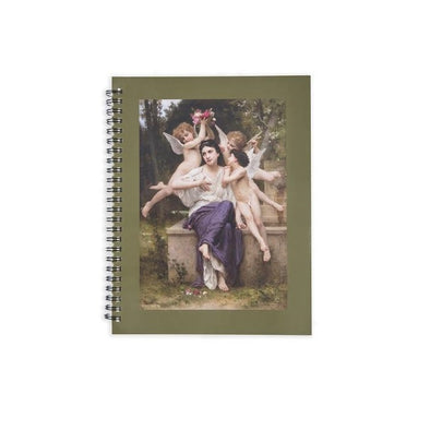 William-Adolphe Bouguereau 'Dream of Spring' Sketchbook