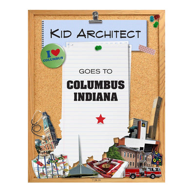 Kid Architect Goes to Columbus, Indiana