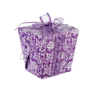 Lavender Take-Out Gift Box