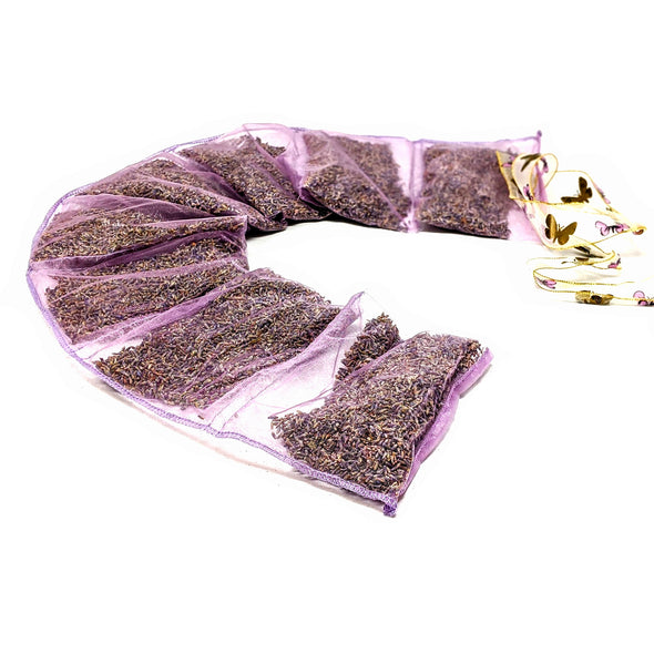 Lavender By the Yard Sachet - Organza