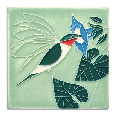 Charley Harper 'Little Sipper' Motawi Tile