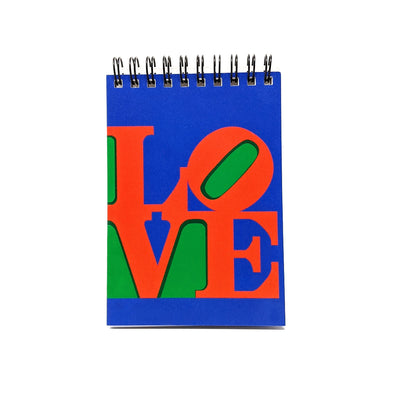 Robert Indiana Love Stamp Mini Notebook