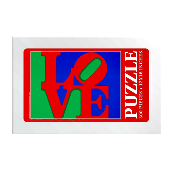 Robert Indiana Love Stamp Puzzle