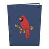 Cardinal Pop-Up Card