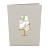 Wedding Cake Pop-Up Card