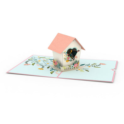 Mother's Day Birdhouse Pop-Up Card