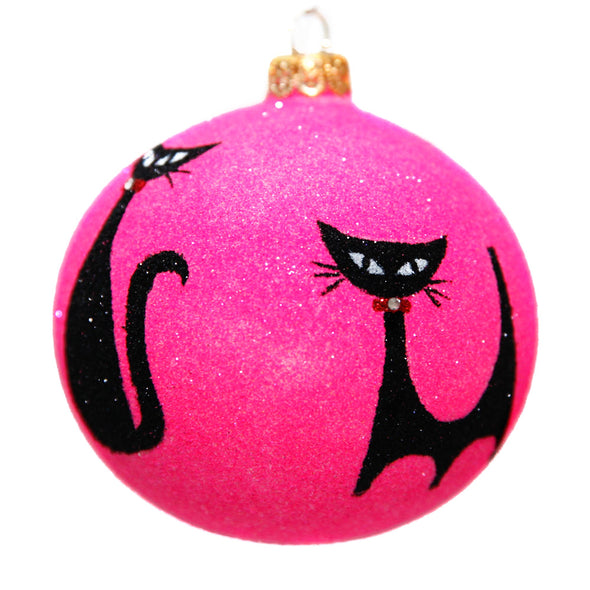 Thomas Glenn Holidays Meow Ornament