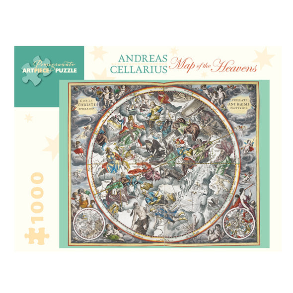 Andreas Cellarius Map of the Heavens Jigsaw Puzzle
