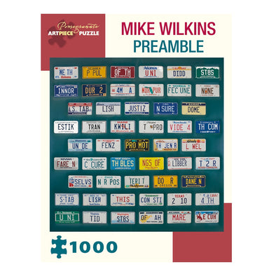 Mike Wilkins Preamble Jigsaw Puzzle