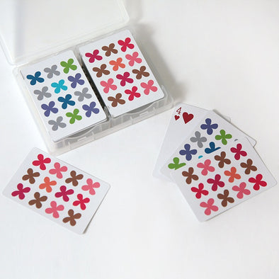 Alexander Girard Quatrefoil Playing Cards