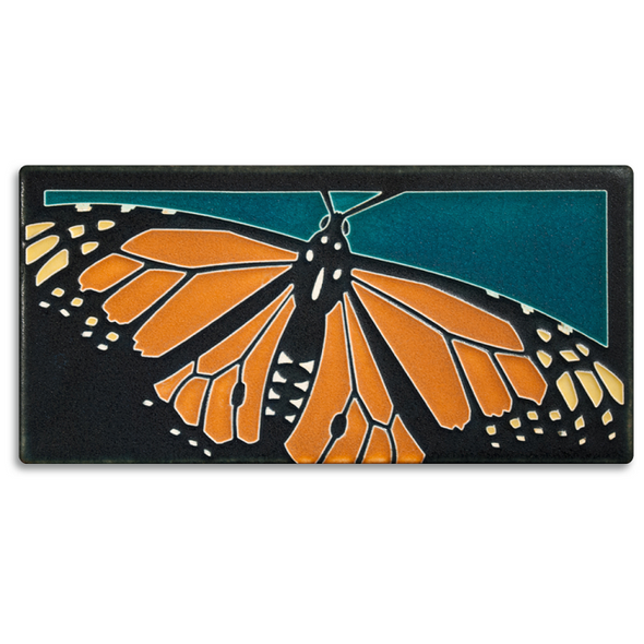 Monarch Butterfly Motawi Tile
