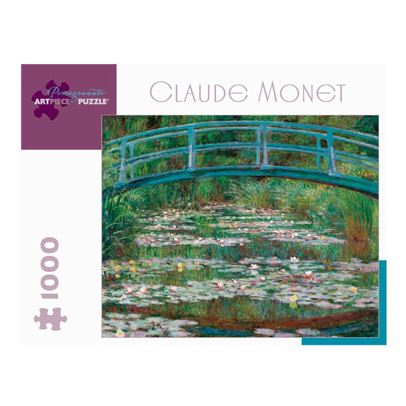 Claude Monet Japanese Footbridge Jigsaw Puzzle