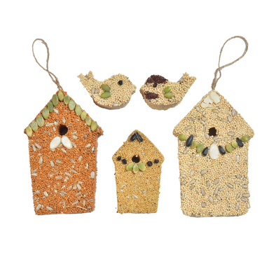 """Home Tweet Home"" House Trio for Wild Birds"
