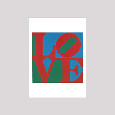 Robert Indiana LOVE Boxed Note Cards