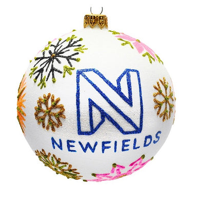 Thomas Glenn Holidays Handcrafted 'Newfields Snowflake' Ornament