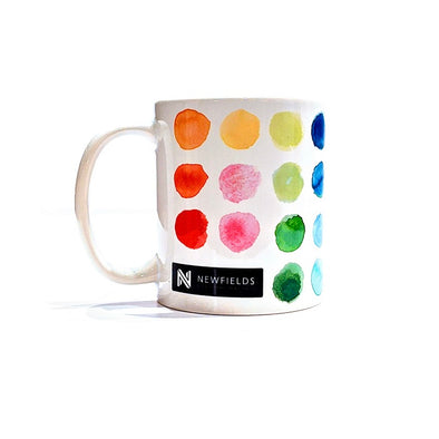 Newfields Watercolor Palette Mug
