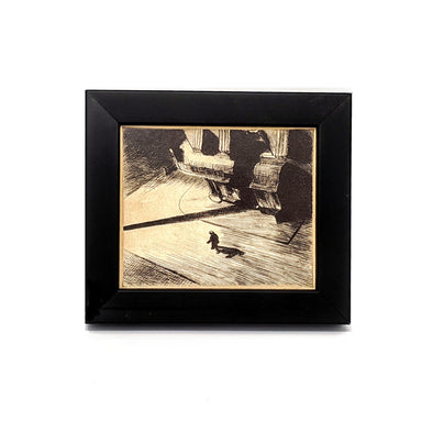 Edward Hopper 'Night Shadows' Framed Mini-Print