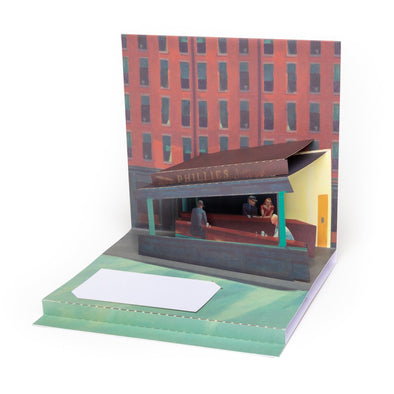 Edward Hopper Pop-Up Card
