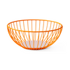 Octaevo Barcelona Iris Large Wire Basket - Orange & Pink