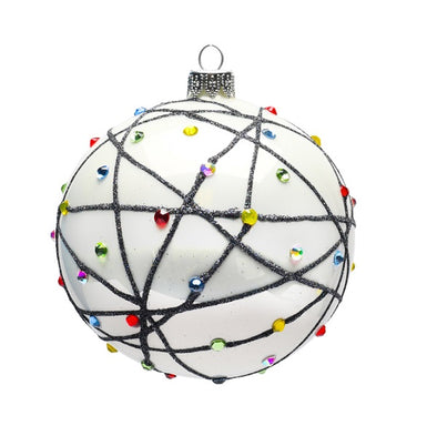 Thomas Glenn Holidays Handcrafted 'Tangled Lights' Ornament