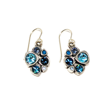 Blue Isabelle Earrings by Patricia Locke