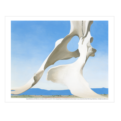 Georgia O'Keeffe 'Pelvis with the Distance' Print