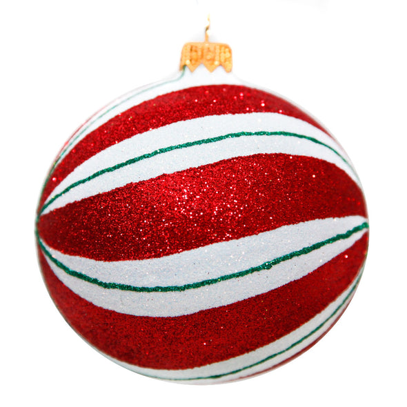 Thomas Glenn Holidays Handcrafted 'Peppermint' Ornament
