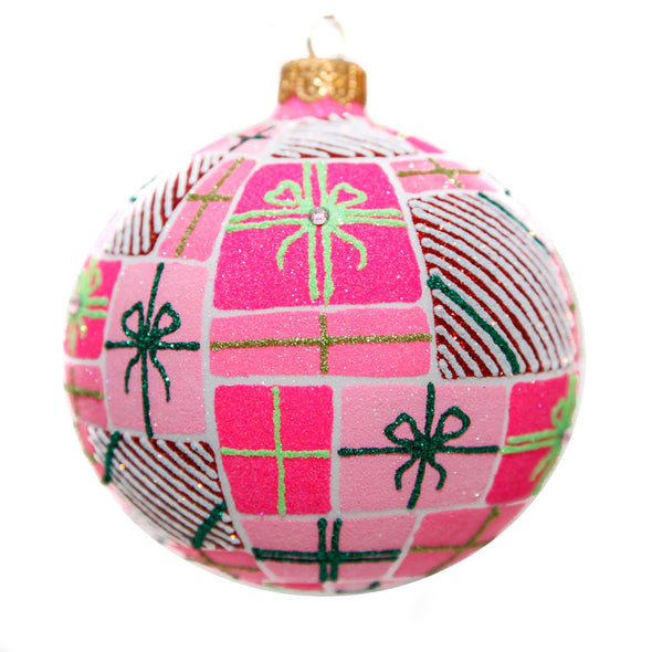 Thomas Glenn Holidays Handcrafted 'Pretty in Pink' Ornament
