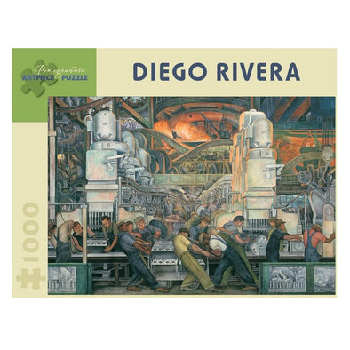 Diego Rivera Detroit Industry Jigsaw Puzzle