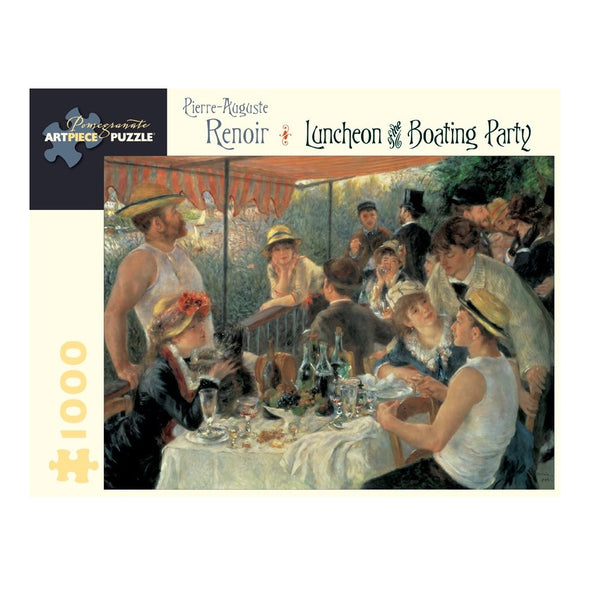 Pierre Auguste Renoir Luncheon of the Boating Party Jigsaw Puzzle