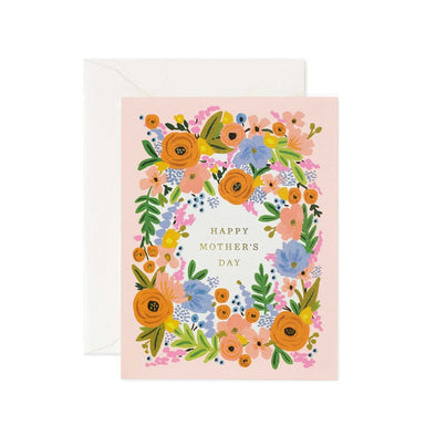 Floral Mother's Day Greeting Card by Rifle Paper