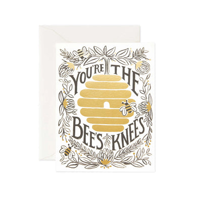 """You're the Bee's Knees"" Card"