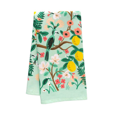 Shanghai Garden Tea Towel by Rifle Paper Co.