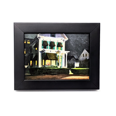 Edward Hopper 'Rooms for Tourists' Framed Mini-Print