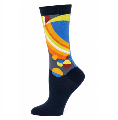 Frank Lloyd Wright March Balloons Ladies' Socks
