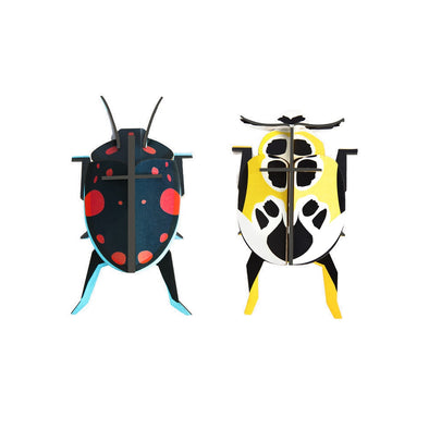 DIY Beetle Decorations by Studio Roof