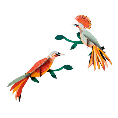 DIY Obi Birds of Paradise Decorations by Studio Roof
