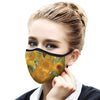 Van Gogh Sunflowers Reusable Face Mask