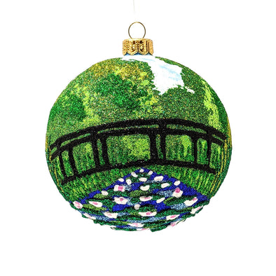 Thomas Glenn Holidays Monet Ornament