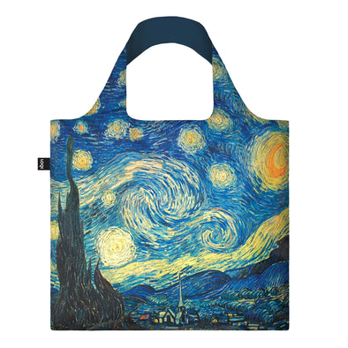Van Gogh 'Starry Night' Recycled Tote Bag