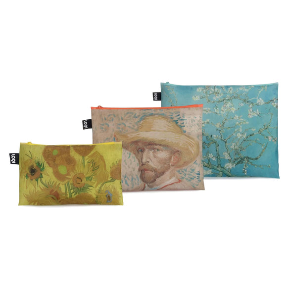Van Gogh Recycled Zip Pockets