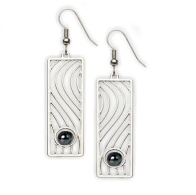 Wall Drawing Earrings
