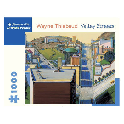 Wayne Thiebaud Valley Streets Jigsaw Puzzle