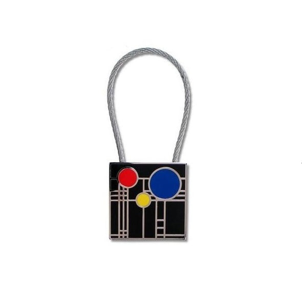 Frank Lloyd Wright Playhouse Keyring