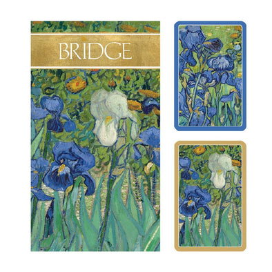 Van Gogh Irises Bridge Gift Set